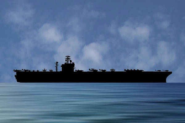 Wall Art - Photograph - Uss Harry S. Truman 1998 V1 by Smart Aviation