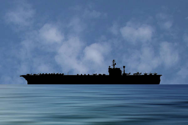 Wall Art - Photograph - Uss John F Kennedy 1964 V1 by Smart Aviation