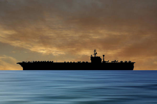 Wall Art - Photograph - Uss John F Kennedy 1964 V2 by Smart Aviation