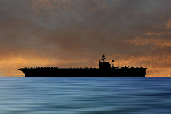 Wall Art - Photograph - Uss John F Kennedy 1964 V3 by Smart Aviation