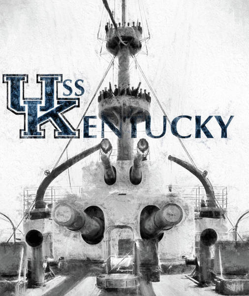 Photograph - Uss Kentucky by JC Findley