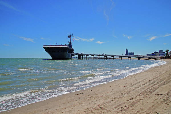 Photograph - Uss Lexington by Mike Murdock