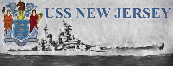 Wall Art - Photograph - Uss New Jersey by JC Findley