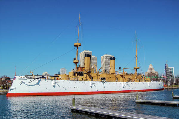 Wall Art - Photograph - Uss Olympia Dreadnought by Tommy Anderson