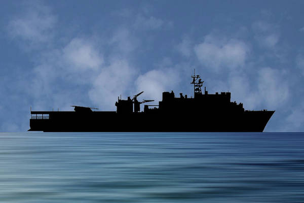 Wall Art - Photograph - Uss Pearl Harbor 1996 V1 by Smart Aviation