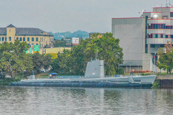 Wall Art - Photograph - Uss Requin Ss-481 by Tommy Anderson