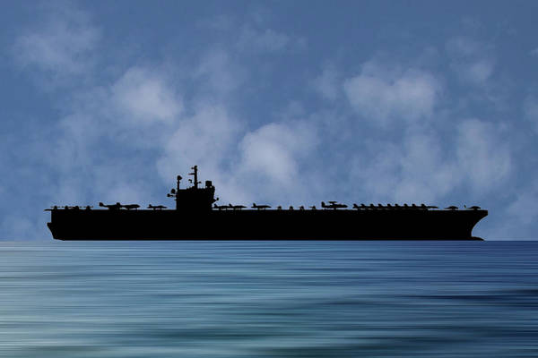 Wall Art - Photograph - Uss Ronald Regan 2003 V1 by Smart Aviation