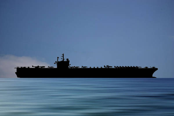 Aircraft Carriers Photograph - Uss Ronald Regan 2003 V4 by Smart Aviation