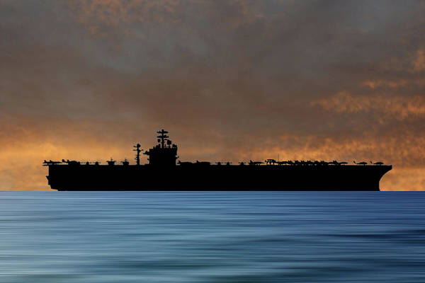 Wall Art - Photograph - Uss Theodore Roosevelt 1986 V3 by Smart Aviation