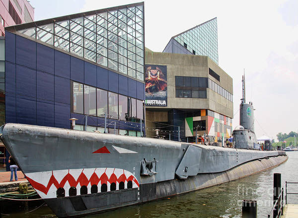 Photograph - Uss Torsk At The National Aquarium In Baltimore by William Kuta