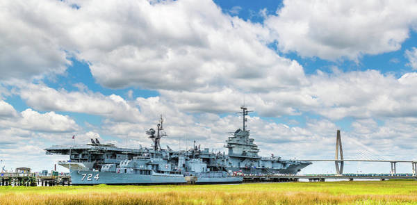 Photograph - Uss Yorktown And Uss Laffey by Donnie Whitaker
