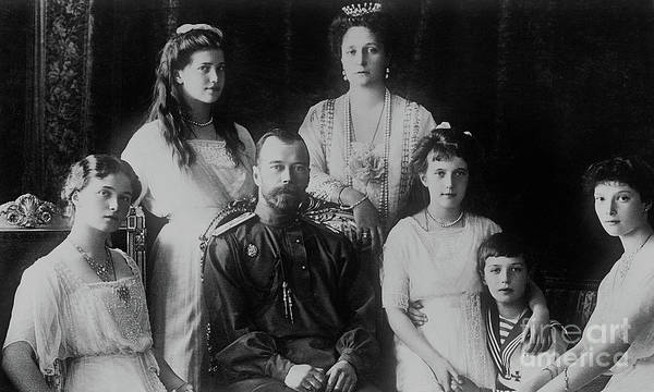 Wall Art - Photograph - Russian Royal Family, 1914 by Russian School