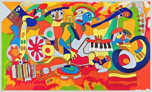 Sax Painting - Ut by Martynas Ivinskas