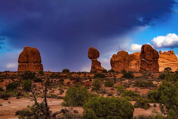 Photograph - Utah Desert  Rock Sculpture by Aidan Moran