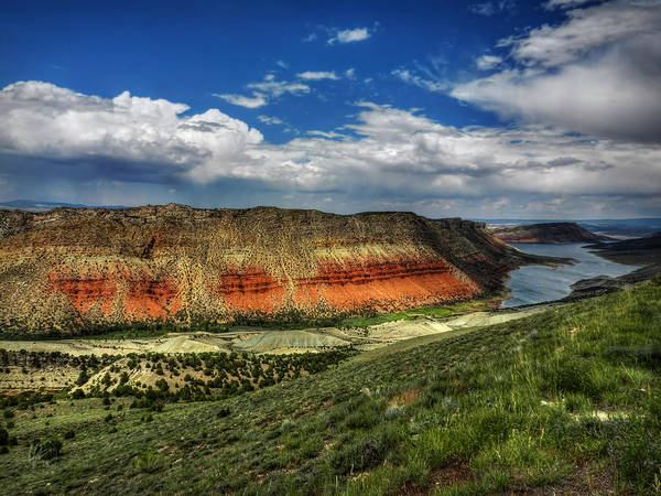 Photograph - Utah - Flaming Gorge 006 by Lance Vaughn