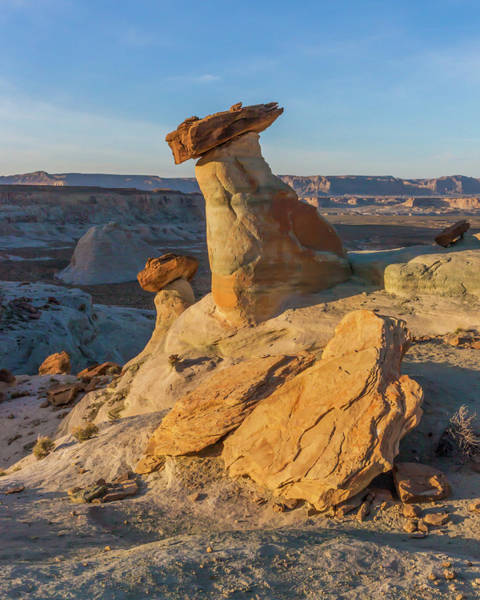 Photograph - Utah Hoodoos At Sunset by Lon Dittrick