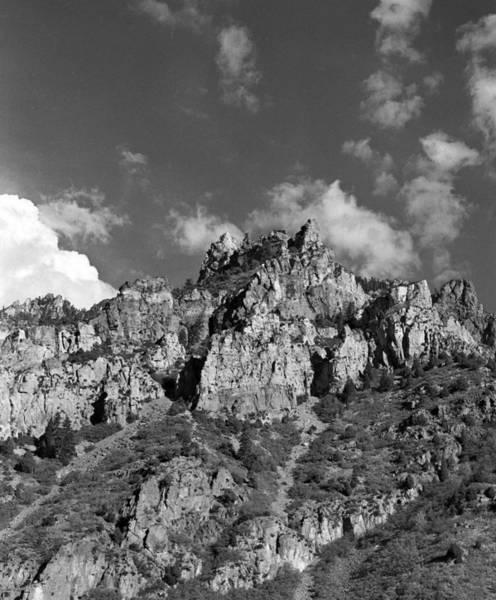 Photograph - Utah Mountains Near Sun Valley 2003  by Paul Ross
