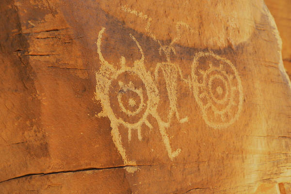 Photograph - Utah Rock Art II by Craig Ratcliffe