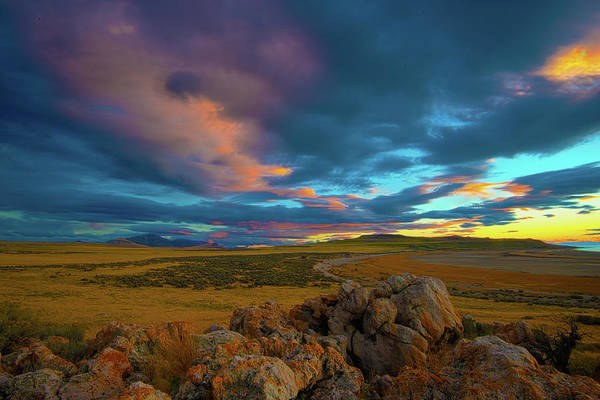 Photograph - Utah Sunset by Norman Hall