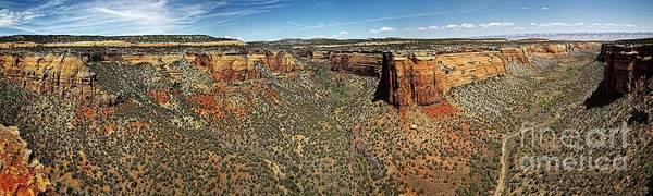 Photograph - Ute Canyon Panorama by Jon Burch Photography