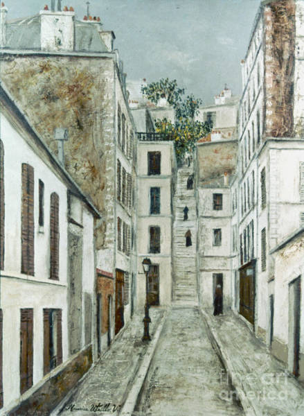 Photograph - Utrillo: Limpasse, 1911 by Granger