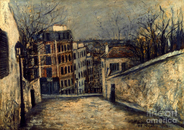 Photograph - Utrillo: Mont-cenis by Granger