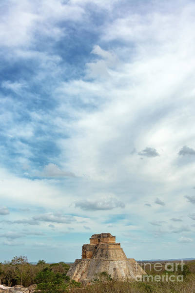 Wall Art - Photograph - Uxmal And Dramatic Sky by Jess Kraft