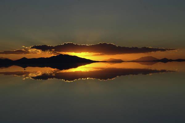 Conan Photograph - Uyuni Sunset by Conan Wang