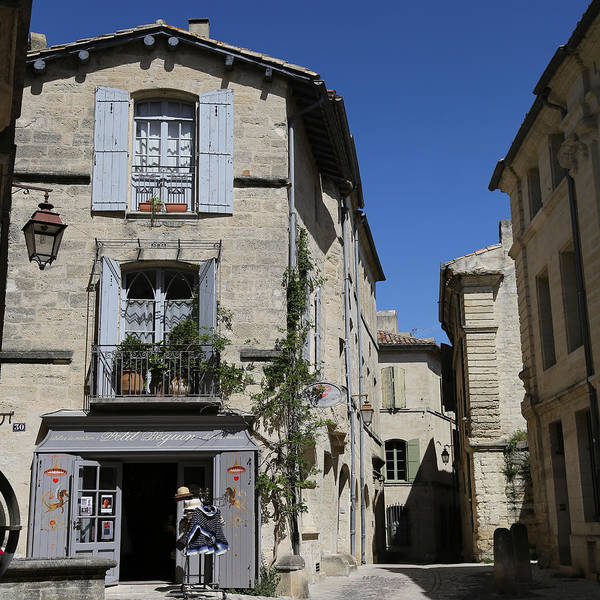 Photograph - Uzes 1 by Andrew Fare