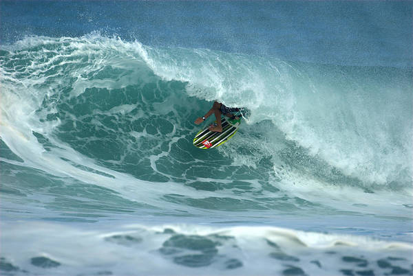 Photograph - V Land Tube Action by Brad Scott