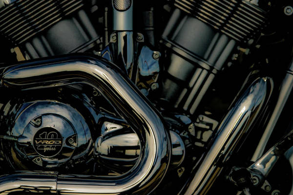 Photograph - V-rod 10 Years 5216 H_2 by Steven Ward