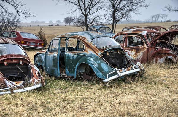 Wall Art - Photograph - Volkswagen Graveyard by Gej Jones