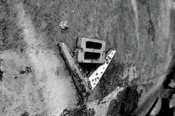 Photograph - V8 Emblem by Matthew Mezo