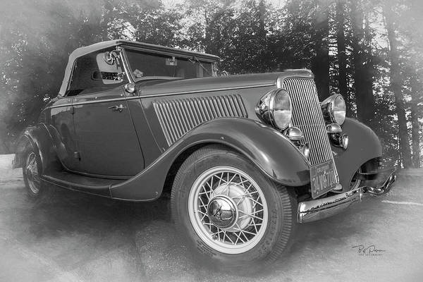 Photograph - V8 Ford by Bill Posner