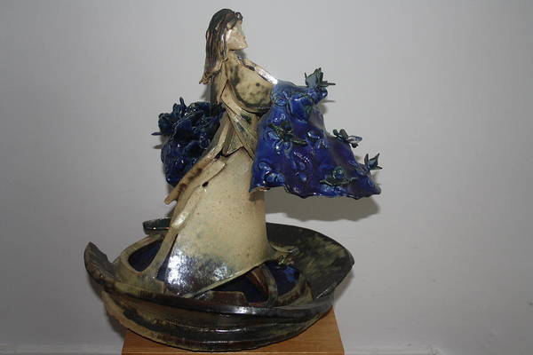 Sculpture - Va Afloat by Gloria Ssali