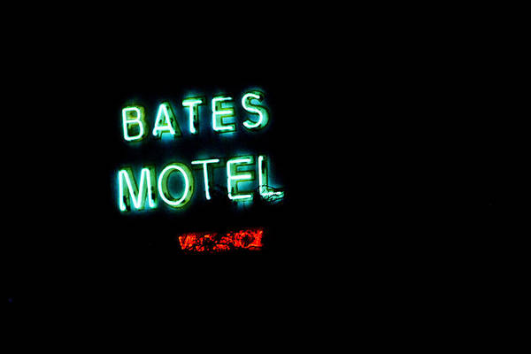 Photograph - Vacancy At Bates Motel by Denise Dube