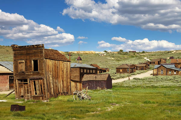 Bodie Ghost Town Wall Art - Photograph - Vacancy by Ricky Barnard