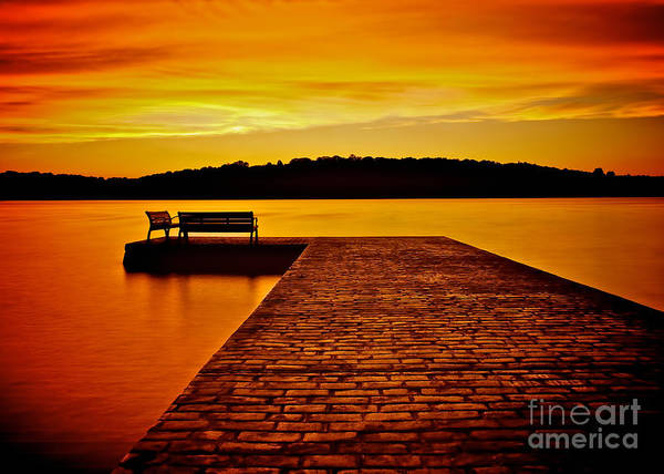Photograph - Vacant Sunset by Mark Miller