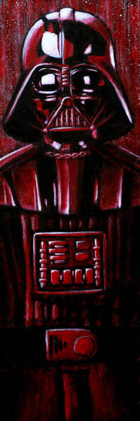 Star Wars Movie Painting - Vader by Marlon Huynh