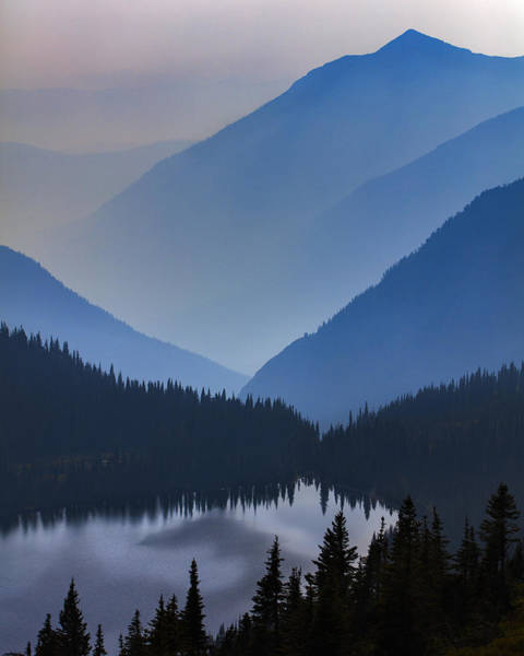 Montana Photograph - Vague Vista by Mike Lang