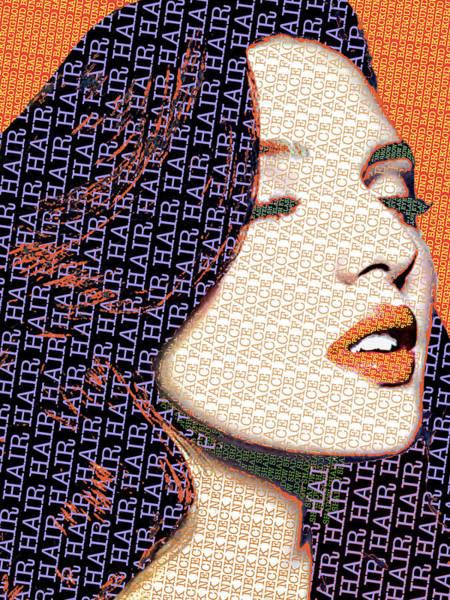Painting - Vain Portrait Of A Woman 2 by Tony Rubino