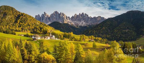 Wall Art - Photograph - Val Di Funes by JR Photography