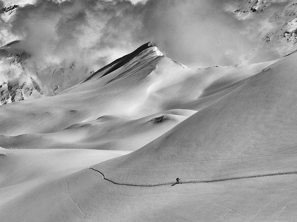 Photograph - Val D'isere by Whit Richardson