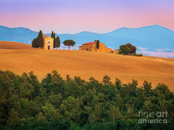 Field Trip Photograph - Val D'orcia Serenity by Inge Johnsson