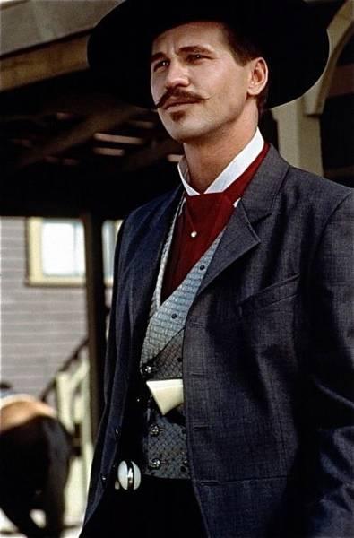 Val Kilmer As Doc Holliday Tombstone Set 1993-2015 Art Print