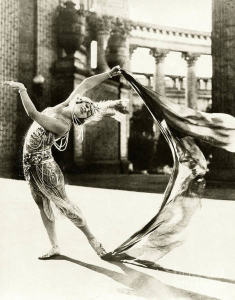 Burlesque Dancer Photograph - Valdeo - Dancer  by Sad Hill - Bizarre Los Angeles Archive