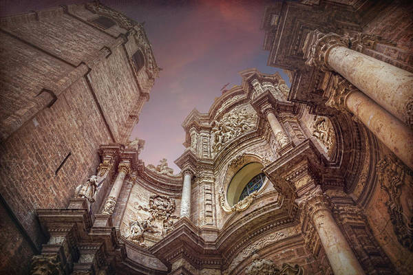 Wall Art - Photograph - Valencia Cathedral And Miguelete Bell Tower  by Carol Japp