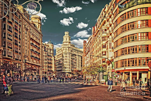 Wall Art - Photograph - Valencia - Sunday Morning After Christmas  by Mary Machare