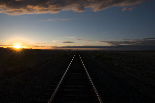 Lost River State Park Wall Art - Photograph - Valentine Texas Tracks by Kevin Bain