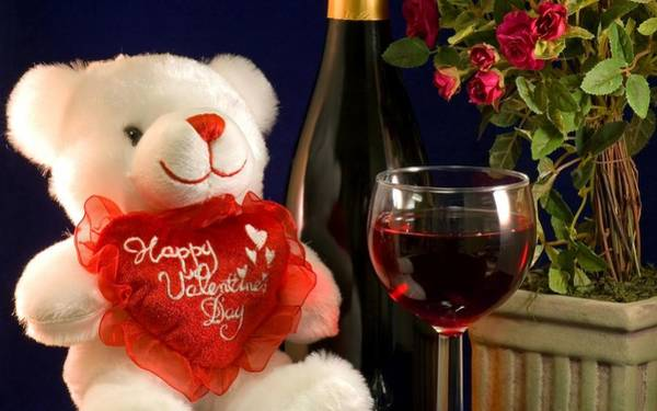 Food And Beverage Digital Art - Valentine's Day by Maye Loeser